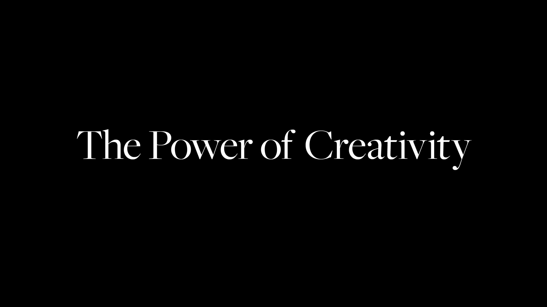 the power of creativity image